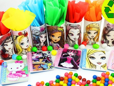 DIY Ever After High Kids'  party treat boxes  - in less than 1 minute