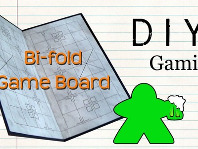 DIY Gaming - How to Make a Bi-fold Gameboard