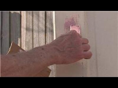 Doors : How to Repair a Door With Wood Filler
