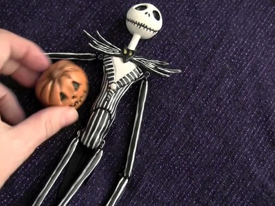 Jack Skellington Hand Sculpted Art Doll by Amy DeCaro