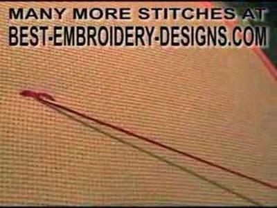 Reverse Chain Stitch