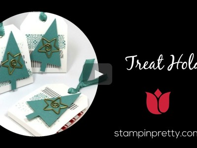 Stampin' Up! Tutorial:  How to Create a Treat Holder