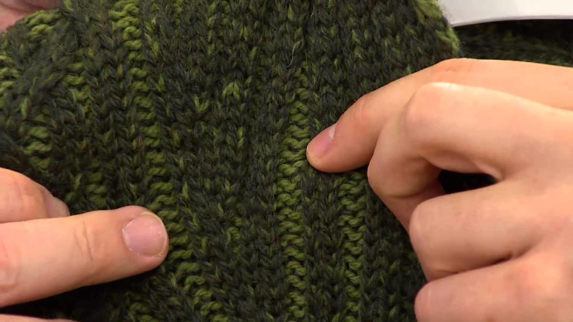 Aran Craft Merino Wool Plaited Shawl Collar Cardigan with Stacey Stauffer