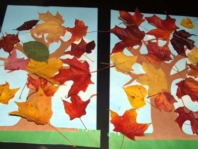 Creative Autumn craft ideas for children