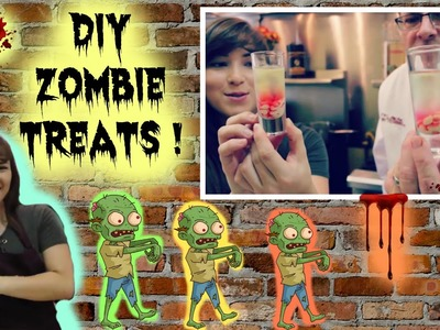 DIY ZOMBIE TREATS!