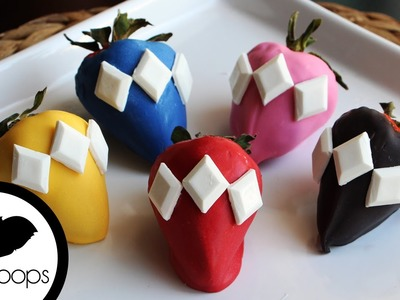 How to Make Power Rangers Strawberries