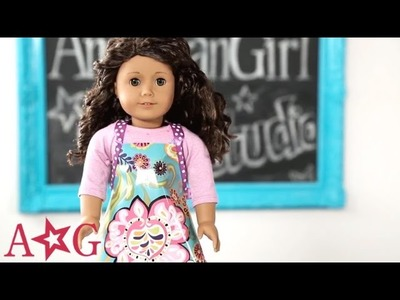 Kitchen Apron Doll Craft | American Girl