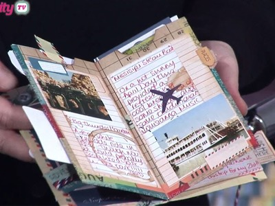 Make A Mini Album With One Sheet of Paper   docrafts Creativity TV