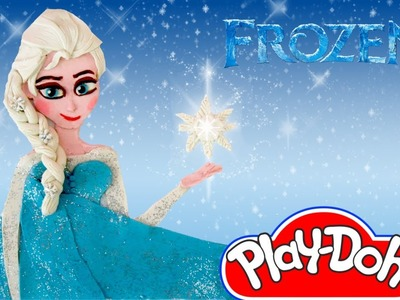 Play Doh Elsa FROZEN Play-Doh Craft N Toys