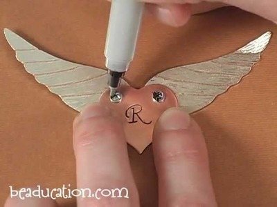 Winged Heart Pendant - Beaducation.com