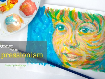 ART LESSON - Beginner Painting: Intro to Impressionism