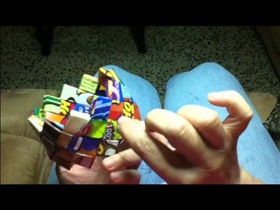 Candy Wrapper Purse Tutorial P3.wmv