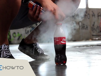 Crazy science experiment: Make a Coca Cola + Butane Rocket
