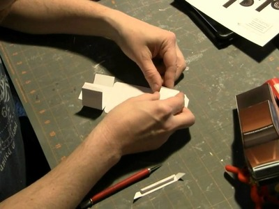Creating the 2014ToyotaTundra paper model