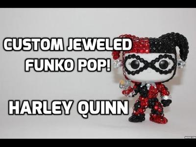 DIY: Custom Jeweled Harley Quinn Funko Pop!