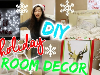 DIY Holiday Room Decor! | 5 DIYs Under 5 Dollars