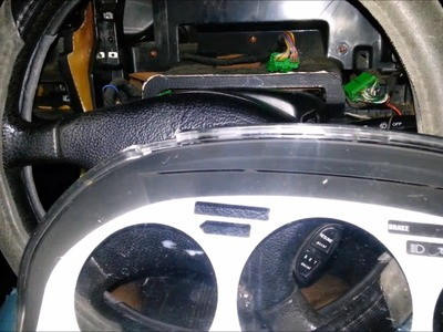DIY How to Remove. Install Gauge Cluster Bezel - 91 Honda Accord
