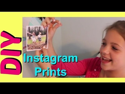 DIY Instagram Prints Wall Decor Ideas | Cute Room Photo Decorations | Jazzy Girl Stuff