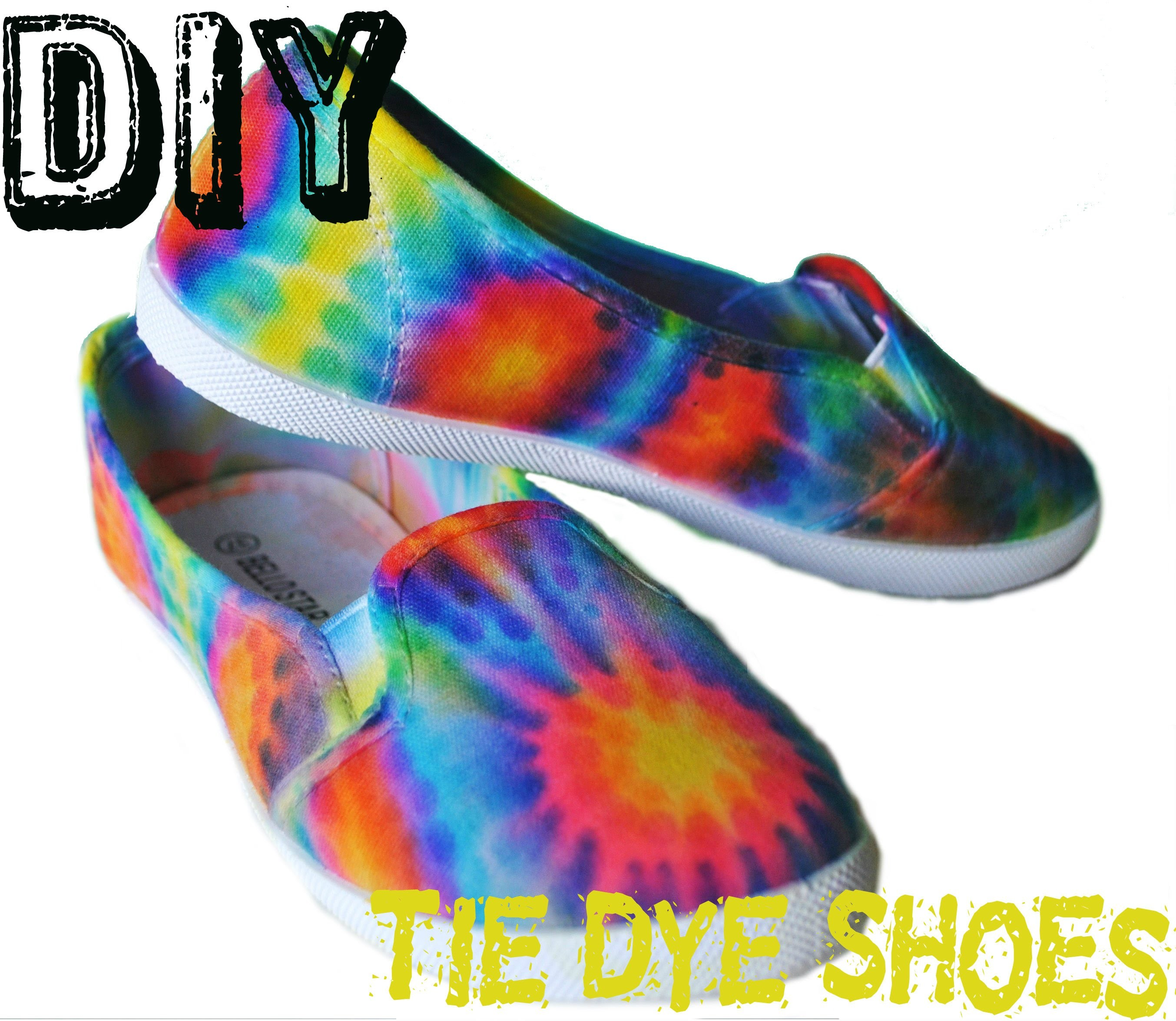 DIY | Pinterest Tie Dye Shoes