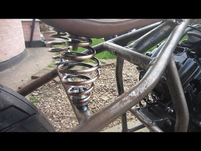 DIY spring seat mounts for hardtail