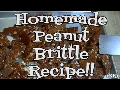 Homemade Peanut Brittle Recipe!!  Noreen's Kitchen