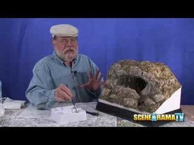 How To Build A Cave Diorama (Part 3 of 5) - School Project | Scene-A-Rama