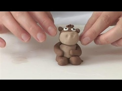How To Form A Fondant Monkey