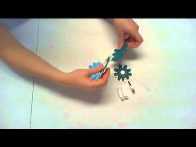 How to make a Flower Hair Clip