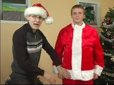 How to Make a Santa Claus Costume : How to Add a Jacket to a Santa Costume