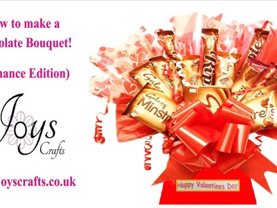 How to make a sweet.candy chocolate bouquet! (Romance edition)