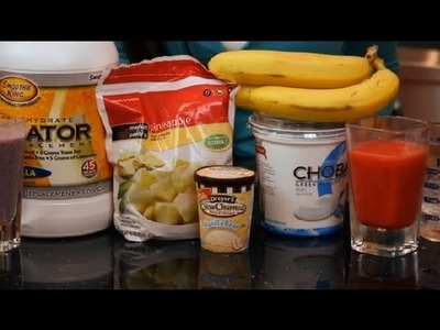 How to Make a Thick Smoothie Without Additives : Making Smoothies
