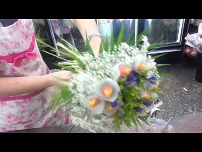 How to Make an Awesome Tulip Hand Bouquet | Singapore