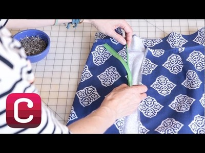 How to Sew a Zipper with Liesl Gibson | Creativebug