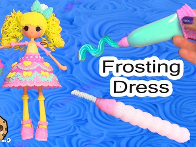 Lalaloopsy Girls Candle Slice O' Cake Fashion Frosting Dough Decorating Craft Doll Cookieswirlc