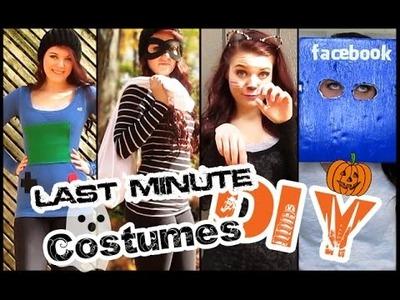 Last Minute DIY Costumes | STYLOWEEN