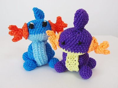 Mudkip Pokemon Rainbow Loom Bands Amigurumi Loomigurumi Hook Only Tutorial