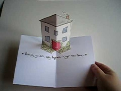 New Home - Pop-Up Card
