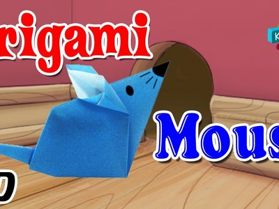 Origami - How To Make MOUSE (RAT) - Simple Tutorials In English