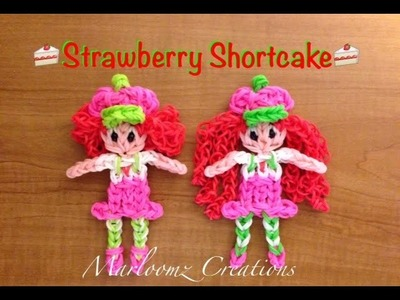 Rainbow Loom Strawberry Shortcake - Updated