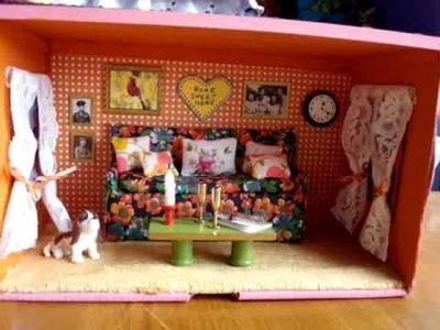 Shoebox Doll House