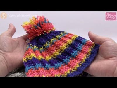 Tunisian Rib Stitch Hat