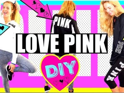 Victoria's Secret Haul  DIY PINK Yoga Pants - Victoria's Secret DIY - Shannon Estelle