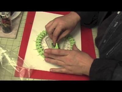 12 x 12 layout using Inkadinkado Stamping gear