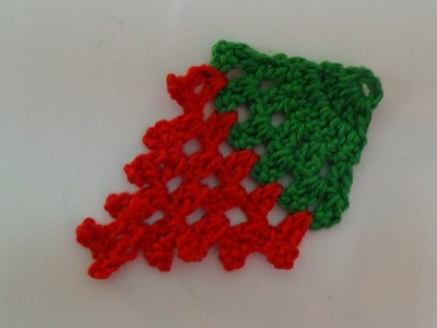 Crochet Strawberry Applique-2