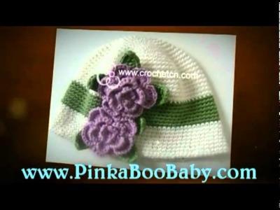 Crocheted Baby Beanies
