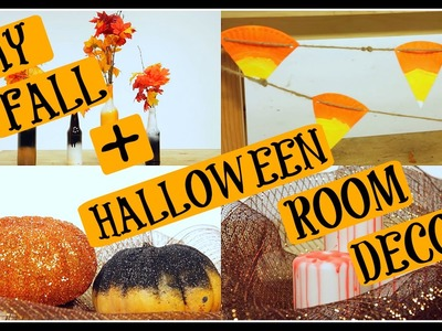 DIY FALL + HALLOWEEN ROOM DECOR | Fangtastic Halloween