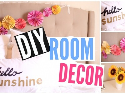 DIY Room Decor for Summer | Cheap + Easy | Courtney Lundquist