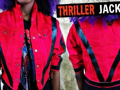 DIY Thriller Jacket | Tashalala