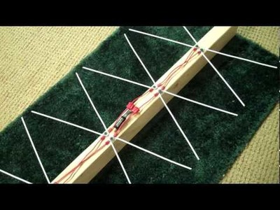 How to build a 4-bay Bowtie Antenna part 2