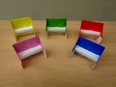 How to Make a paper Piano and Chair - Easy Tutorial